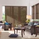 Natural Shades for Living Room by Southwest Blinds and Shutters