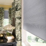 Closeup of cellular shades by Southwest Blinds and Shutters