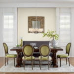 Composite Shutters for Dining Room by Southwest Blinds and Shutters