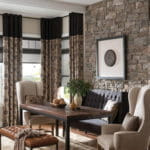 Drapes of Dining Room from Southwest Blinds and Shutters in Phoenix