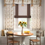 Elegant Dining Room Drapes by Southwest Blinds and Shutters