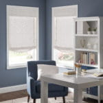 Fabric Roman Shades by Southwest Blinds and Shutters