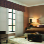 Vertical Blinds in Bedroom from Southwest Blinds and Shutters at Phoenix