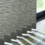 Graber Fabric Vertical CloseUp by Southwest Blinds and Shutters