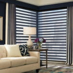 Dual Shades Graber layered for Living Room by Southwest Blinds and Shutters