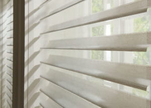 Sheer Window Shades Closeup