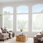 Sheer Shades for Living Room by Southwest Blinds and Shutters