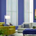 Vertical Blinds for your Living room by Southwest Blinds and Shutters