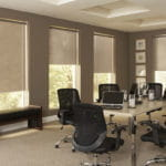Motorized Shades for Office by Southwest Blinds and Shutters