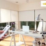 Motorized Blinds with Controller by Southwest Blinds and Shutters
